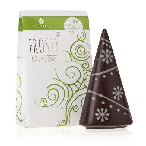 Chocolissimo - Vánoční stromeček z hořké belgické čokolády 60 g