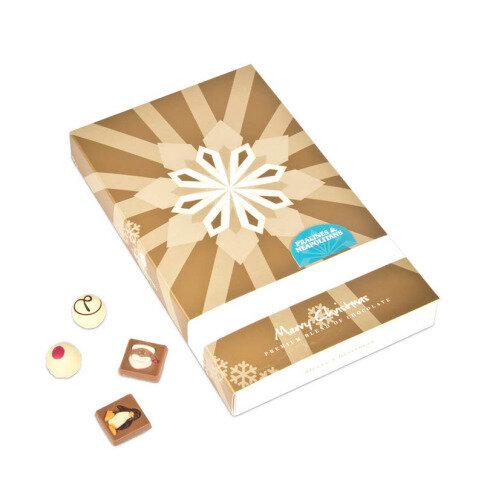 Chocolissimo - Adventní kalendář kniha s pralinkami a neapolitánkami 240 g
