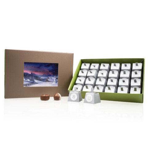 Chocolissimo - Adventní kalendář s vlastní fotkou 288 g