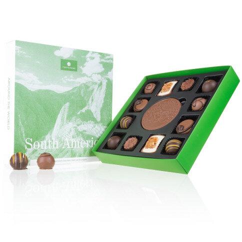 Chocolissimo - Around the World Jižní Amerika - luxusní bonboniéra s pralinkami 185 g