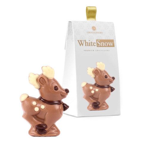 Chocolissimo - Vánoční figurka - sob z čokolády 33 g