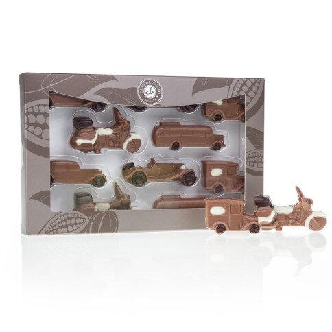 Chocolissimo - Čokoládové figurky - auta 100 g