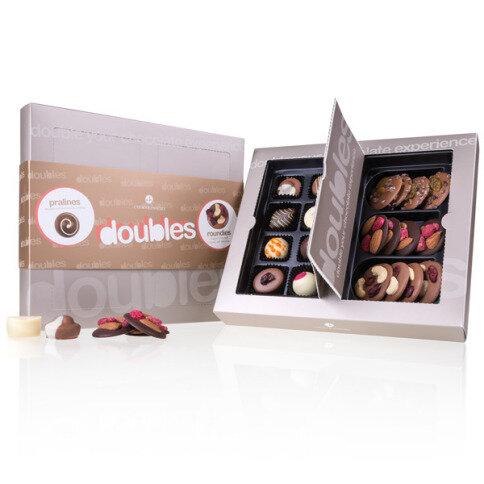 Chocolissimo - Bonboniéra pro dva - čokoládové kroužky & pralinky 170 g