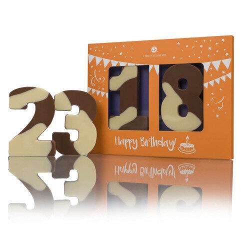 Levně Chocolissimo - Čokoládové čísla na dort 60 g
