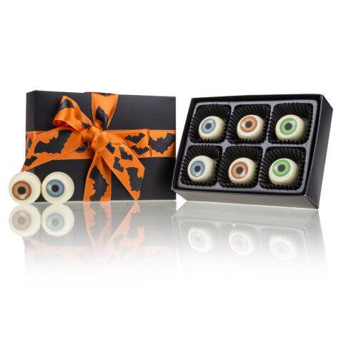 Chocolissimo - Strašidelné oči-čokoládové pralinky v krabičce L 60 g