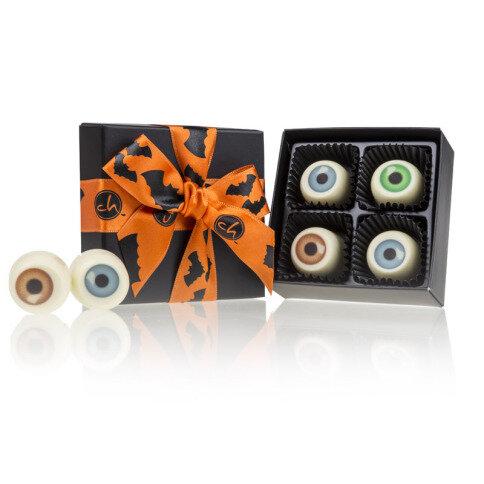 Chocolissimo - Strašidelné oči-čokoládové pralinky v krabičce XS 40 g