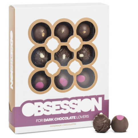 Chocolissimo - Pralinky Obsession - Hořká čokoláda 140 g