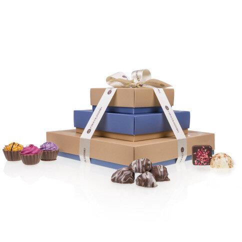 Levně Chocolissimo - Dárková sada čokoládek - tříposchoďová 360 g