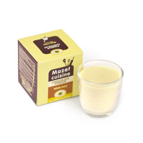 Chocolissimo - Čokoláda na fondue - bílá 90 g