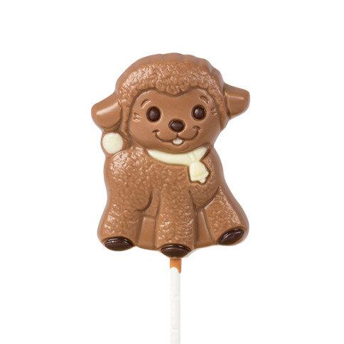 Chocolissimo - Lízátko ve tvaru ovečky z mléčné čokolády 35 g