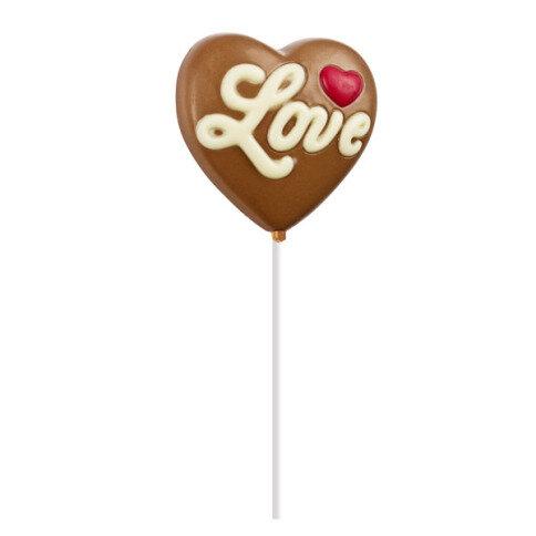 Chocolissimo - Lízátko ve tvaru srdce 30 g