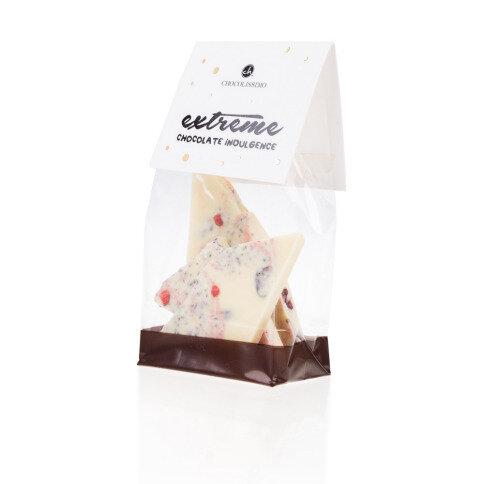Chocolissimo - Mini bílá čokoláda - lesní ovoce a brusinka 100 g