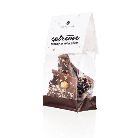 Chocolissimo - Mini mléčná čokoláda s ořechy 100 g