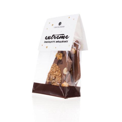 Chocolissimo - Mini mléčná čokoláda se sušenkami 100 g