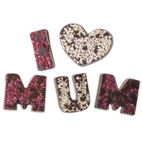 Chocolissimo - I love Mum - hořká čokoláda 80 g