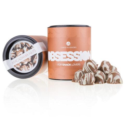 Levně Chocolissimo - Makadamové oříšky v čokoládě 140 g