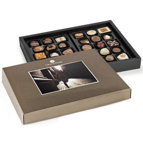 Chocolissimo - Zlatá bonboniéra s možností vložení vlastní fotky - maxi 360 g