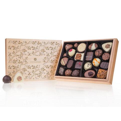 Chocolissimo - Premiere Midi Decor - Pralinky v dřevěné krabičce 250 g