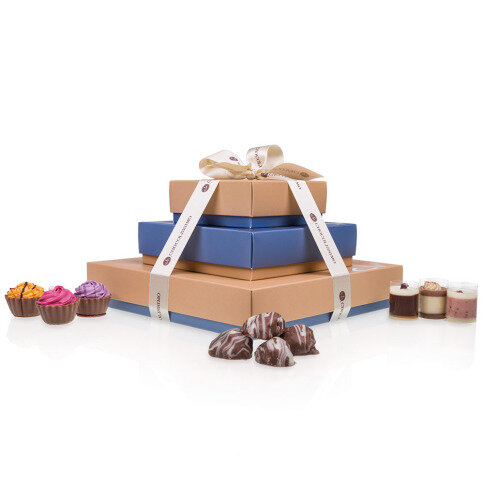 Chocolissimo - Luxusní pralinková sada Cupcakes & Choc & Roll 400 g