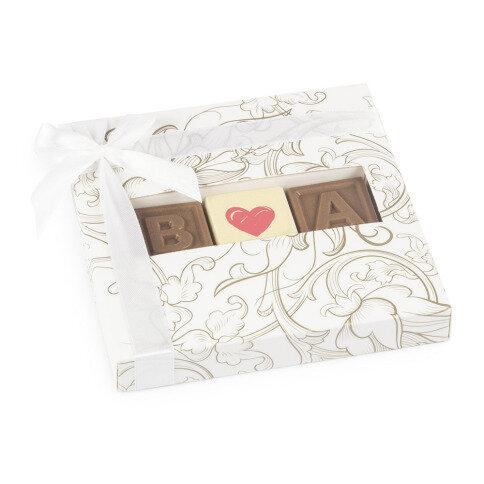 Chocolissimo - Svatební čokoládky s potiskem 28 g