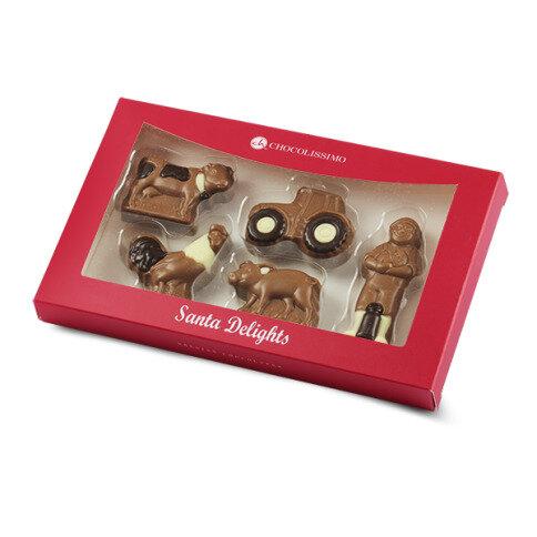 Chocolissimo - Čokoládové figurky k Vánocům - veselá farma 100 g