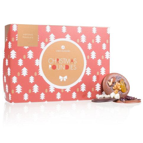 Chocolissimo - Čokoládové disky Xmas Roundies Mix 130 g