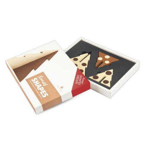Chocolissimo - Čokoládové vánoční stromky - 3D 260 g