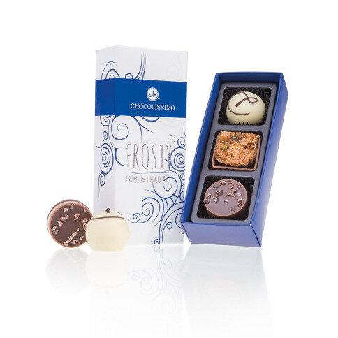 Chocolissimo - Vánočni čokoládové trio 35 g