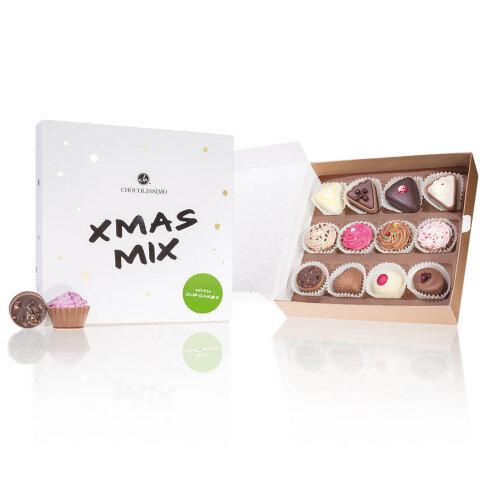 Chocolissimo - Vánoční čokoládový mix s minidortíky 160 g