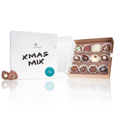 Chocolissimo - Vánoční čokoládový mix s hvězdičkami 160 g