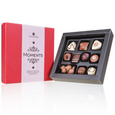 belgian chocolates shop, Moments mini white